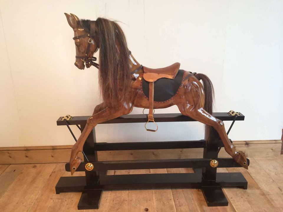 Dolls Houses and Rocking Horses at 'Unique Solid Wood Furniture by Stan'