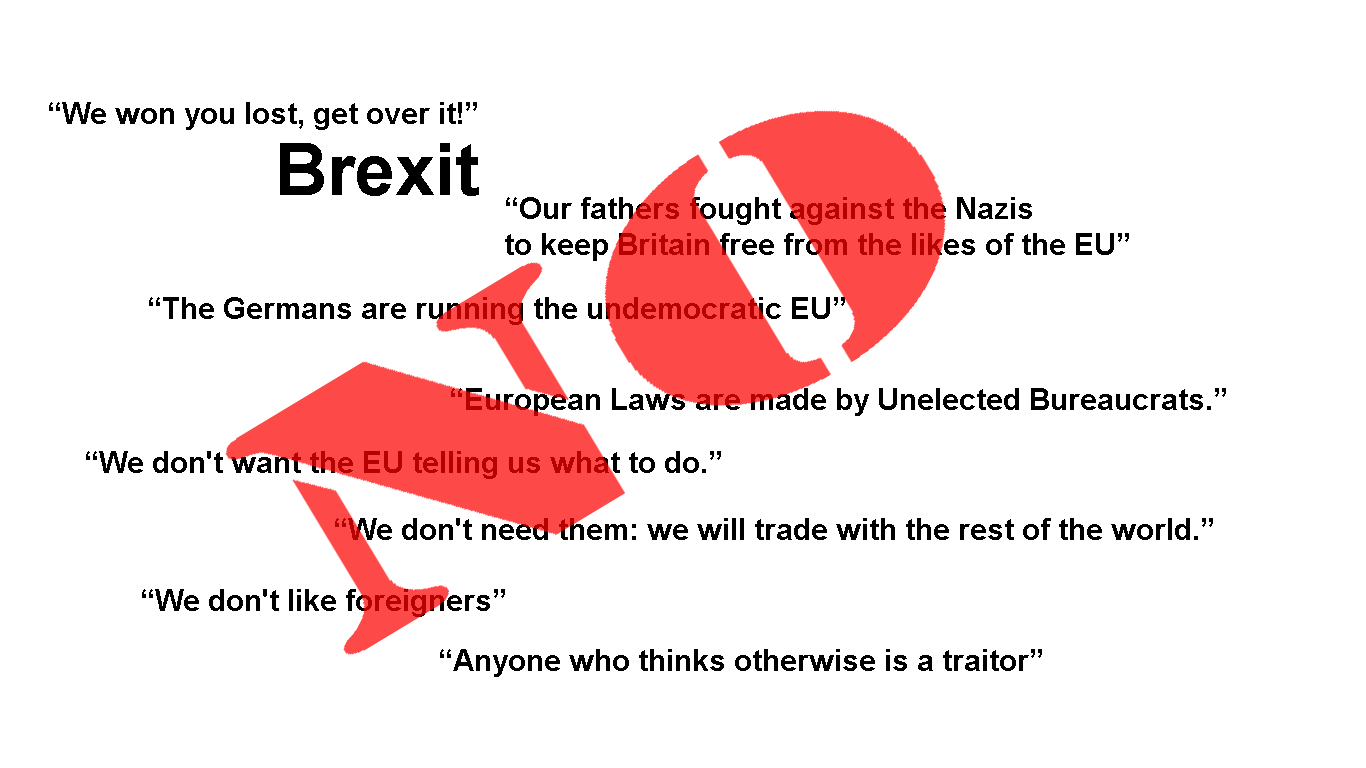 Reasons often stated for defending brexit vote
