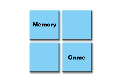 Memory Game Graphic smaller version