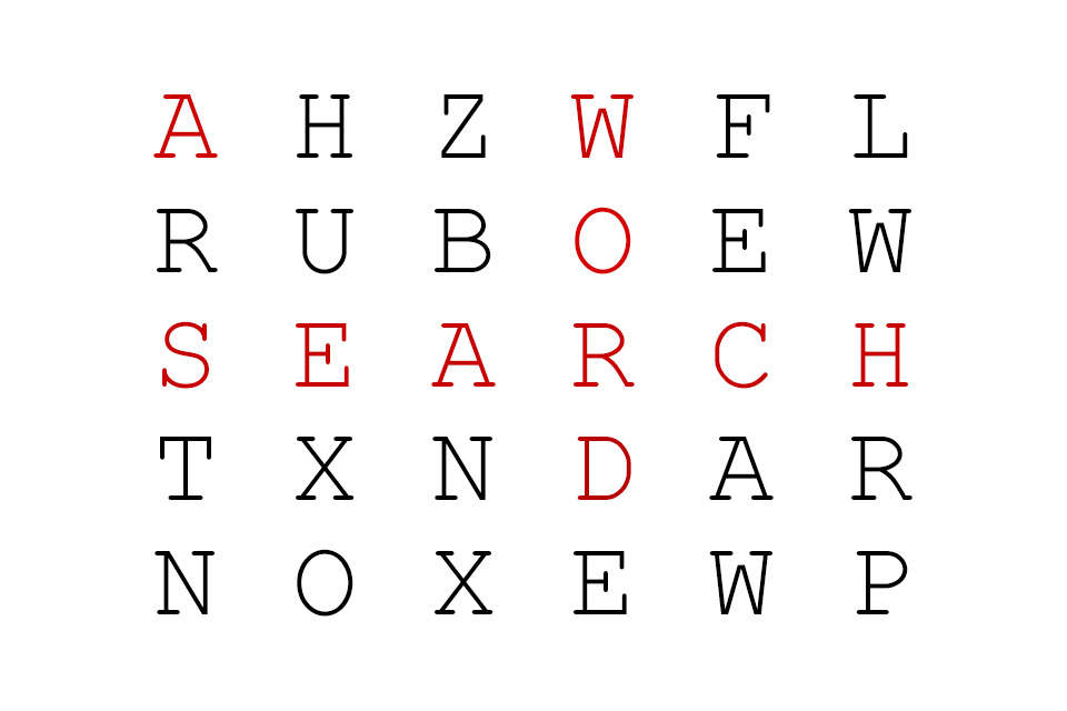 Word Search graphic