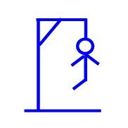 Hangman line 9 (one leg)