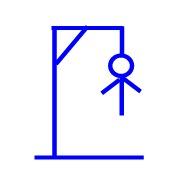 Hangman line 8 (second arm)