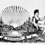 The New York Sun newspaper title in 1897
