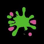 Fun and Games 'splat' logo