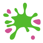 Fun and Games splat logo without text